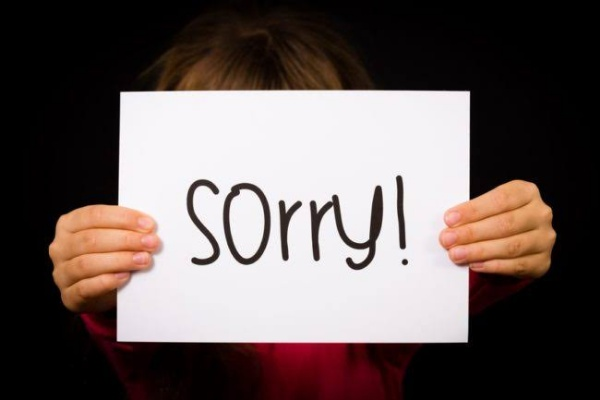 meminta maaf